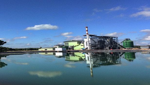 ภาพโรงไฟฟ้าชีวมวล สงขลาไบโอ แมส