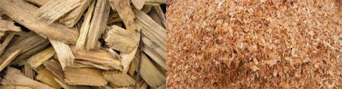 บริษัท สงขลาไบโอแมส จำกัด ข่าว Wood chip is biomass from the wood mill.