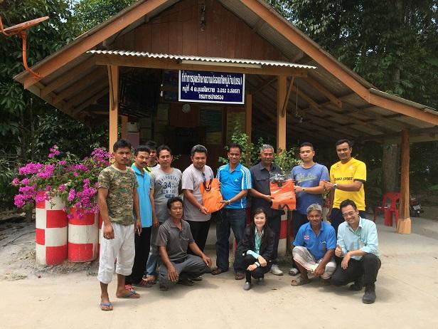 บริษัท สงขลา ไบโอแมส จำกัด โครงการสร้างความเข้าใจสู่ชุมชน หมู่ที่ 4 บ้านป่าระไมออก